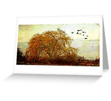 The Willow Tree Greeting Card