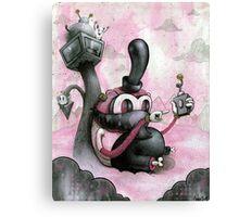 Hide & Sneak Canvas Print