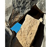 Rock Tetris Photographic Print