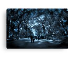 A Stroll Through the Park Canvas Print