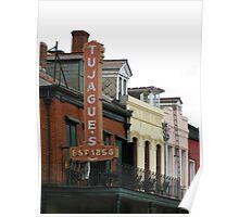 Colorful Louisiana Poster