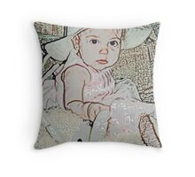 Baby Doll... Throw Pillow