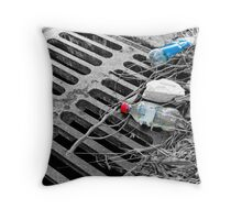 Sewer Throw Pillow