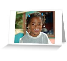 Dominican Girl Greeting Card