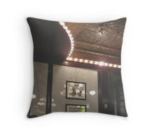 Trail of Lights Throw Pillow