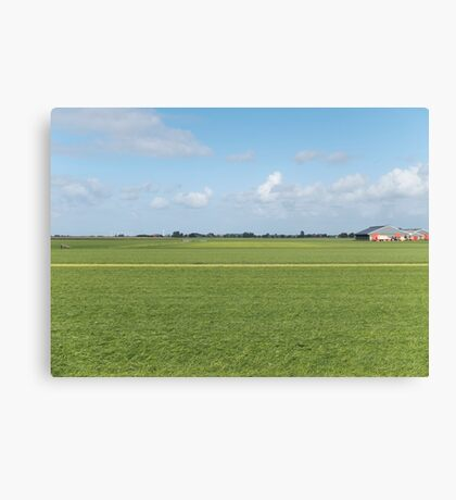 Tranquil field Canvas Print