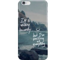 All Time Low - Therapy Lyrics 4 iPhone Case/Skin