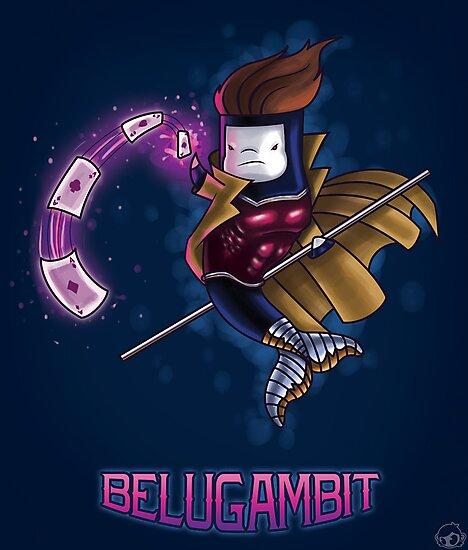 BeluGambit Print by Bamboota