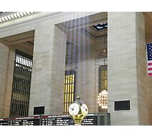 Sunlight Streaming into Grand Central Terminal Photographic Print