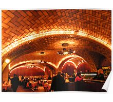 Historic Oyster Bar Restaurant, Grand Central Terminal Poster