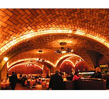 Historic Oyster Bar Restaurant, Grand Central Terminal Photographic Print