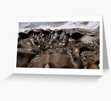 Lake Superior Rocks  - Marathon Ontario Canada Greeting Card