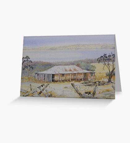 Wheatfields Farm House Dumbleyung Greeting Card