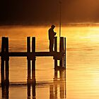 Sunrise Fishing Strahan Tasmania Australia by neverforgotten