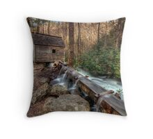 Tub Mill Throw Pillow