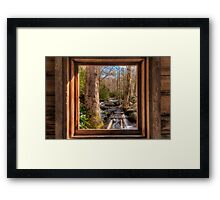 Tub Mill -  Window Framed Print