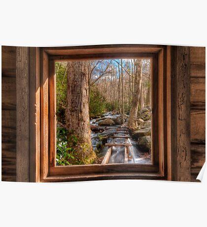 Tub Mill -  Window Poster