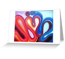 eternal kiss Greeting Card