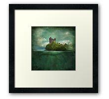 'Under The Castle'  Framed Print