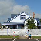Blue House by Joan Wild