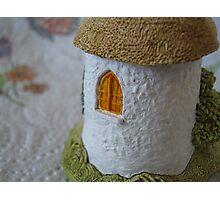 Miniature Cottage _ Shuttered window Photographic Print