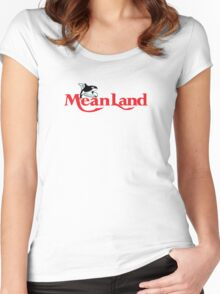 Meanland Women's Fitted Scoop T-Shirt