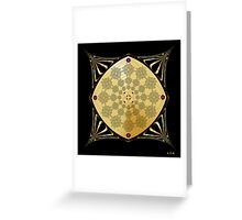 Fleuron Composition No. 251 Greeting Card