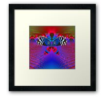 """Butterfly World"" Framed Print"