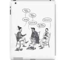 Doctor Who knock knock joke iPad Case/Skin