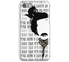 Edgar Allan Poe art-aphorism iPhone Case/Skin