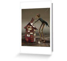 'Bulb Factory' II Greeting Card