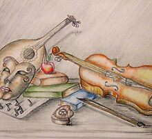 life is full of music  by thuraya arts