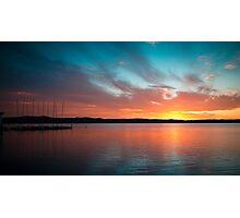 Long Jetty Sunset Photographic Print