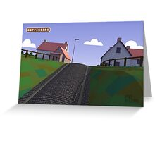 #PolyPeloton : Postcards - Koppenberg Greeting Card