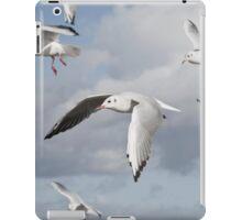 Flying Seagulls iPad Case/Skin