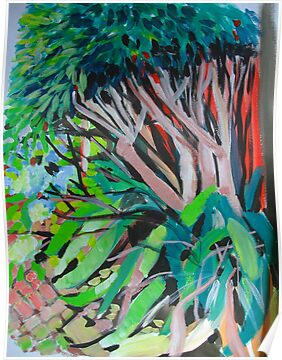 Courtyard view by marlene veronique holdsworth