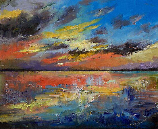 Key West Florida Sunset by Michael Creese