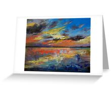 Key West Florida Sunset Greeting Card