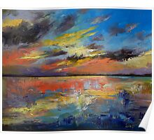 Key West Florida Sunset Poster