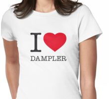 I ♥ DAMPLER Womens Fitted T-Shirt