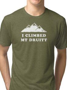 I Climbed Mt Druitt Tri-blend T-Shirt