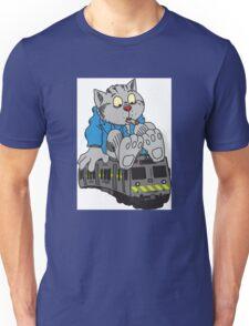 Fritz the Cat Train Unisex T-Shirt