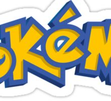 pokemon logo Sticker