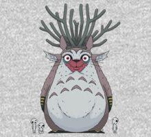 Deer God Totoro One Piece - Long Sleeve