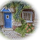 Miniature Cottage #2 Welcome by nbrettoner