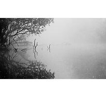 Fog Poker Photographic Print
