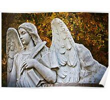 Autumn Angel Poster
