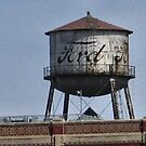 Old Ford Factory Water Tower by plunder