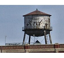 Old Ford Factory Water Tower Photographic Print