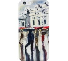 London on a rainy day iPhone Case/Skin